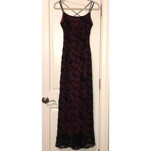 Formal Burgundy Dress